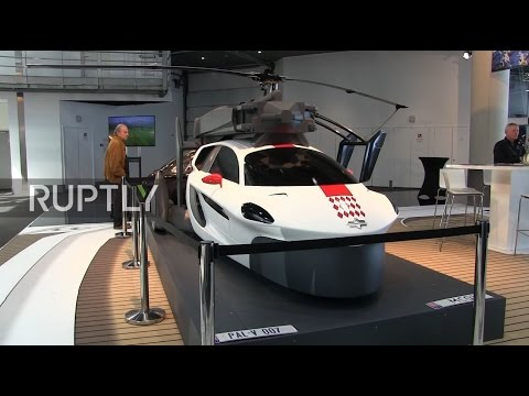 Monaco: Flying cars showcased at Top Marques auto show could be in action sooner than you think