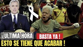 🔴¡ ULTIMA HORA ! HACE UNAS HORAS ! Colombia, TRISTE NOTICIA , La Salida de IVAN DUQUE, Sucedio HOY !
