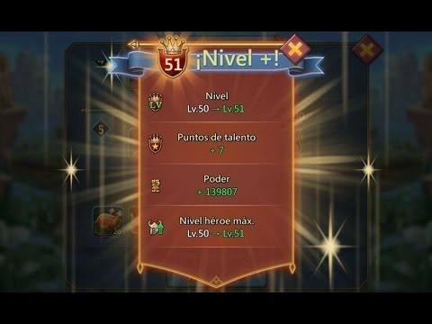 Como Subir Rápido Nivel De Jugador / Lords Mobile #3
