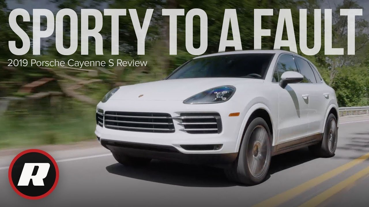 Tech Check 2019 Porsche Cayenne S Pcm Infotainment System Is Its Best Yet Youtube