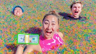 Download LAST TO LEAVE THE ORBEEZ POOL WINS $10,000 Mp3 and Videos