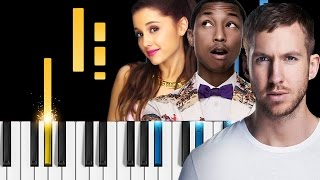 Calvin Harris - Heatstroke (ft. Young Thug, Pharrell Williams & Ariana Grande) - Piano Tutorial