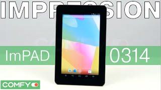 Impression ImPad 0314 - недорогой планшет с IPS матрицей - Видеодемонстрация  от Comfy
