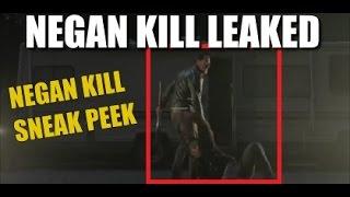 The walking dead season 7 spoilers negan kill sneak peek breakdown