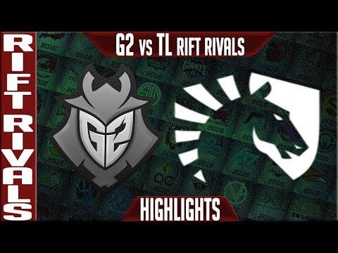 G2 vs TL Highlights Game 3 Bo5 | Rift Rivals 2019 NA vs EU | G2 Esports vs Team Liquid
