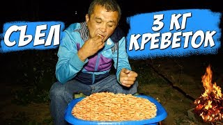 СЪЕЛ 3 КГ КРЕВЕТОК за 2000 РУБЛЕЙ