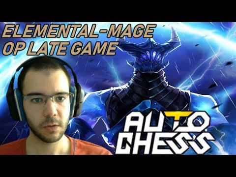 INSANE Late Game Elemental-Mage COMBO | Dota Auto Chess Gameplay 89