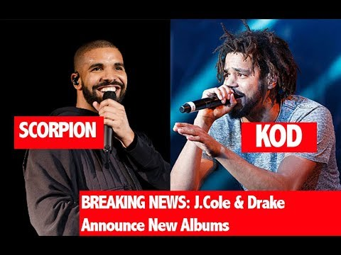 "BREAKING: Drake Announces New Album, J.Cole Announces New Album Friday (FIND OUT WHAT ""KOD"" MEANS)"