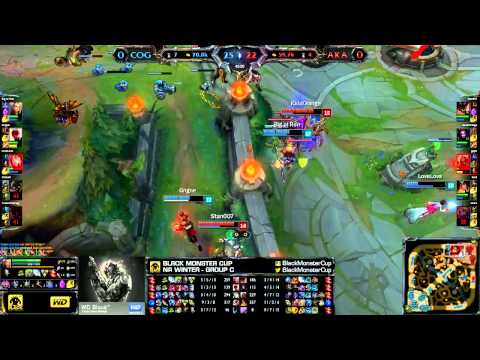 Big Ol Ron's Irelia turns the team fight (Black Monster Cup NA Winter Group C)