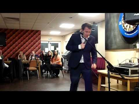 Ian Jones as Lee Evans live at the Southfields Club SW London
