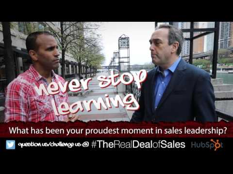 Sales Leaders Share Their Proudest Moments with Keenan, A Sales Guy