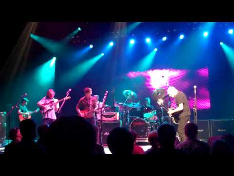 """Peter Frampton - Davy Knowles - Sonny Landreth - """"While My Guitar Gently Weeps"""" - KC August 2013"""