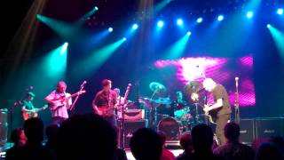 "Peter Frampton - Davy Knowles - Sonny Landreth - ""While My Guitar Gently Weeps"" - KC August 2013"