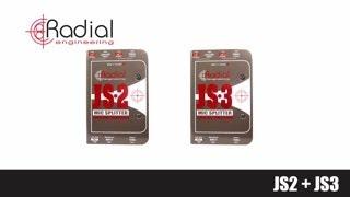 Radial Engineering- JS2 & JS3 Mic Splitters