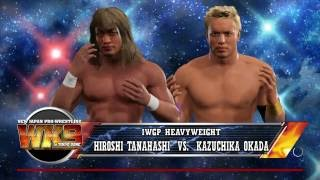 [IWGP Heavyweight Championship ] [C] Kazuchika Okada VS Hiroshi Tan...