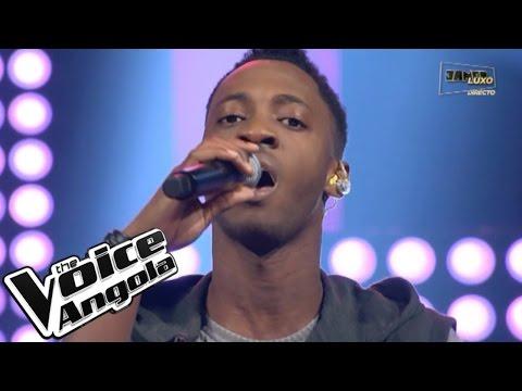 """L'Vincy canta """"Tudo por Amor"""" / The Voice Angola 2015 / Show ao Vivo 3"""