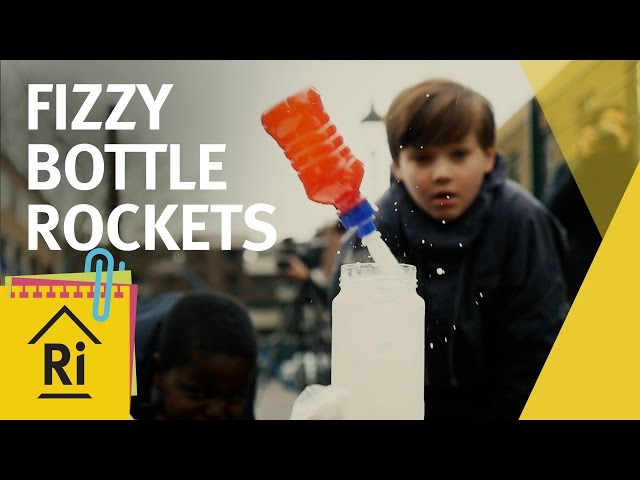 At home science - How to make fizzy bottle rockets - ExpeRimental #16