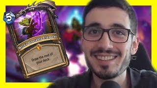 Lets Pick Up The Pace | Rise of Shadows Hearthstone