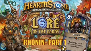 Hearthstone | Lore of the Cards | Rhonin (Part 1)