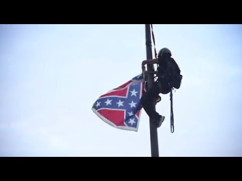 Watch Bree Newsome Take Down Confederate Flag In South Carolina