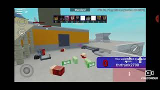 Aresenal Gameplay On Roblox