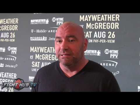 "Dana White ""You Think Floyd Would Go To Dublin, IRELAND Hell No & He's Smart Not To Want To Go"""