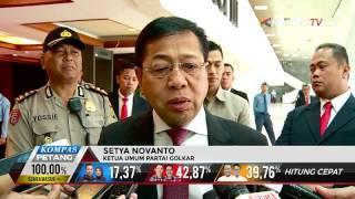 Setnov Ajak Partai Pengusung Agus-Sylvi Dukung Ahok-Djarot