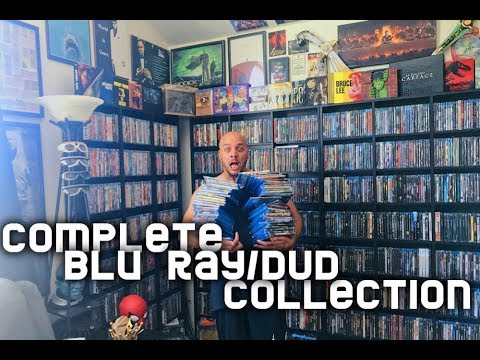 HOW MANY BLU RAYS DO I OWN??? COMPLETE BLU RAY DVD COLLECTION 2018