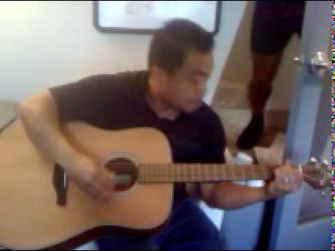 Amiel Salvador on guitar
