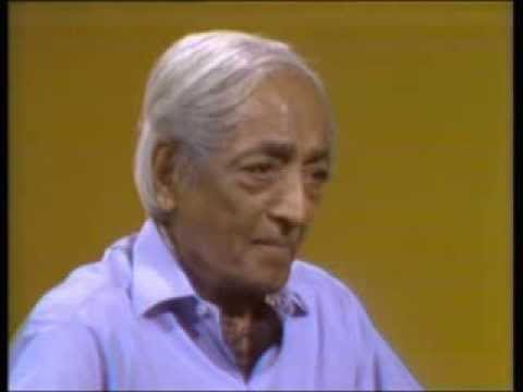 J. Krishnamurti. San Diego 1974. Convers. 5. Order comes from the understanding of our disorder
