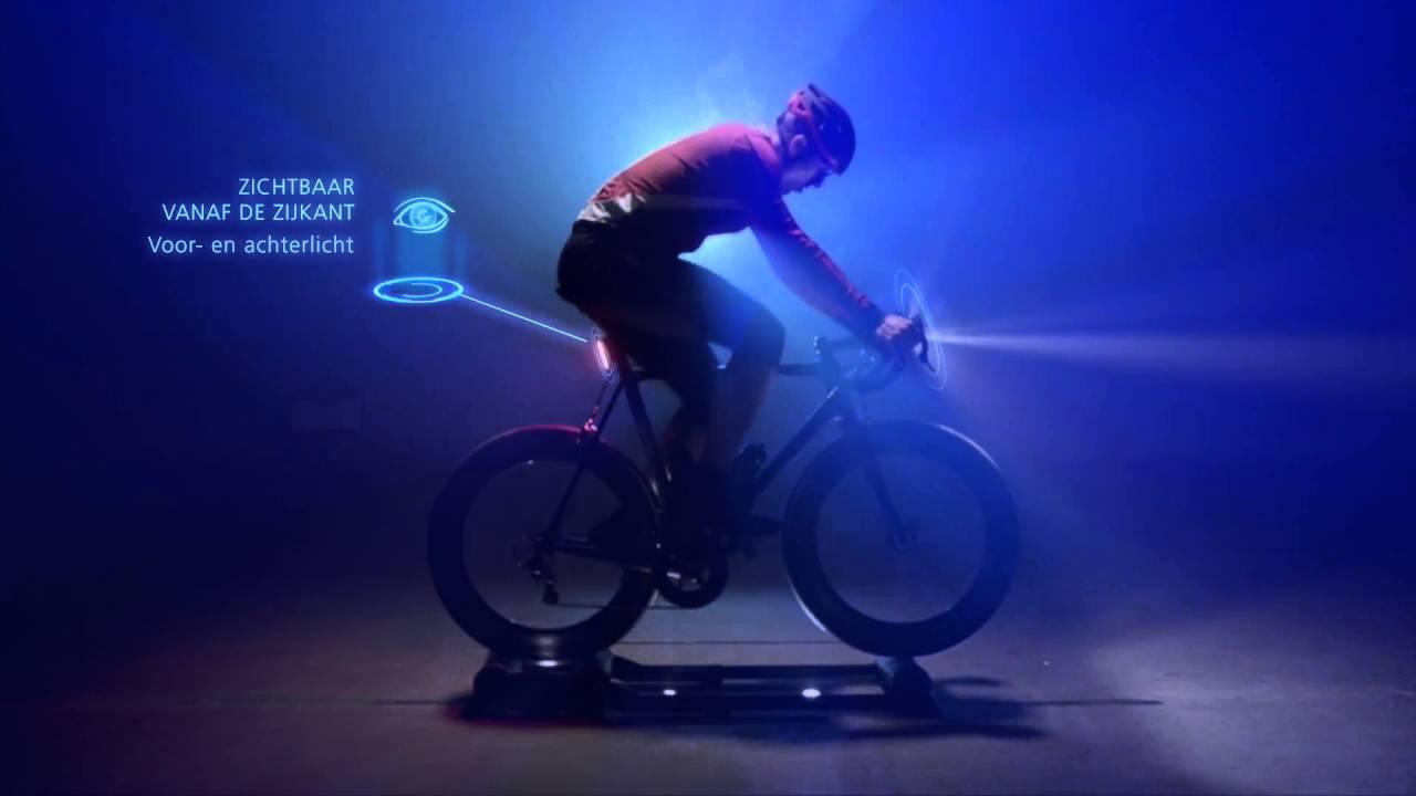 Varia fietsverlichting - Eigenschappen - YouTube