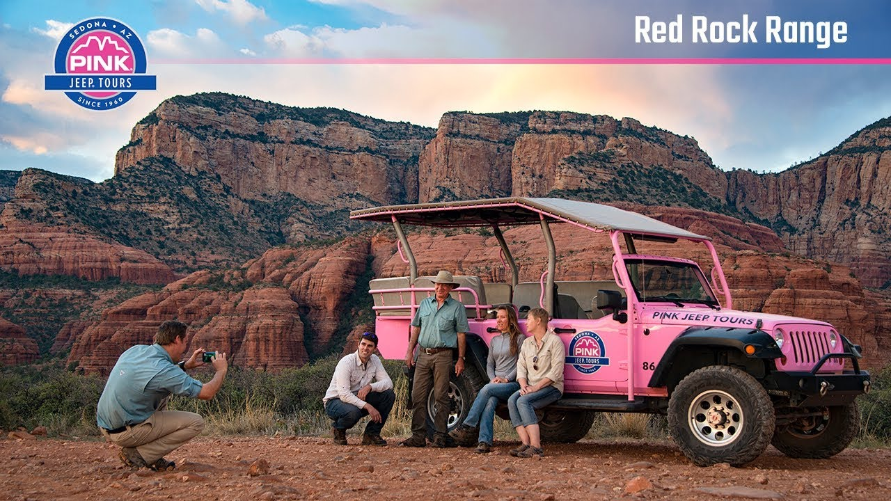 Sedona Jeep Tours   Red Rock Range Outback Tour | Pink Jeep Tours