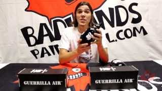 Guerrilla Air 48/3000 and 62/3000 Steel Tank Unboxing - Official Badlands Paintball