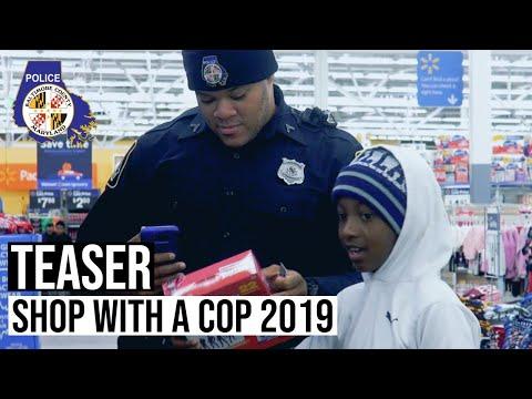 Teaser: «Shop With A Cop 2019»