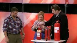 Как выбрать огнетушитель для дома(
