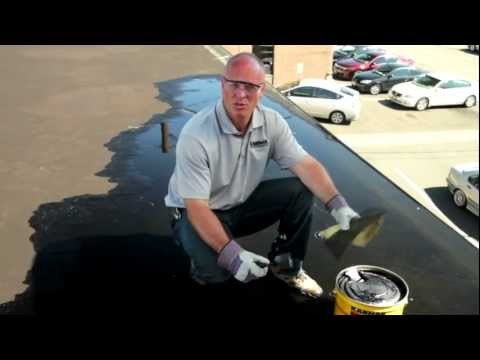 Tarco Mineral Surfaced Roll Roofing Application Video Mov