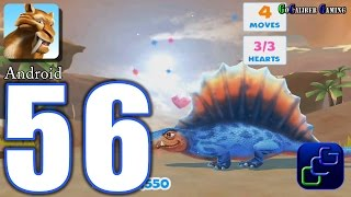 ICE AGE Adventures Android Walkthrough - Part 56 - The Lava Lands, Rescue Dimetrodon