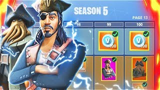 SEASON 5 Map Update Leaked! New Fortnite Season 5 BATTLE PASS Theme! (Fortnite Season 5 Map Update)