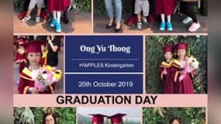 2019 H'apples Kindergarten Graduation Day