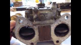 Weber 40DCOE4 Twin Carburettors for restoration - Classic 1960s Alfa Romeo