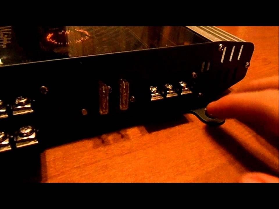 New Amp  Vr3 400 Watt 4 Channel