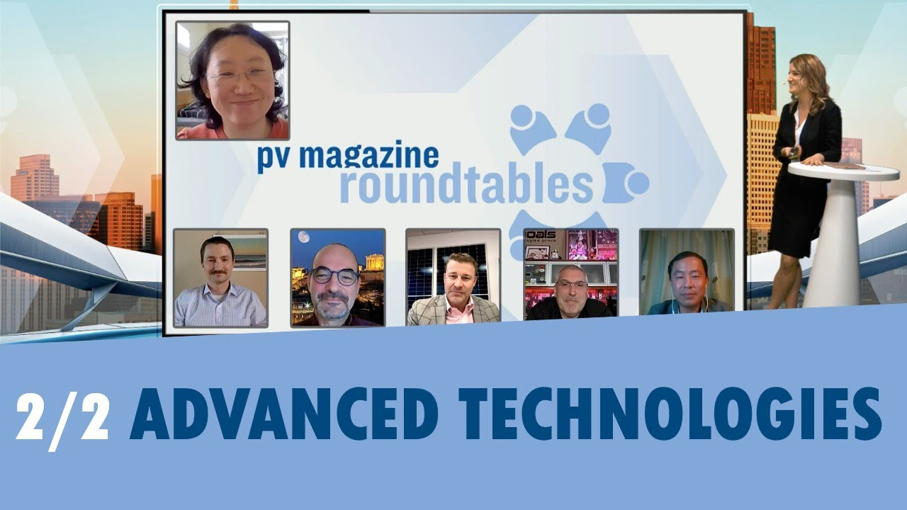 pv magazine Virtual Roundtables USA 2020 | Advanced Technologies