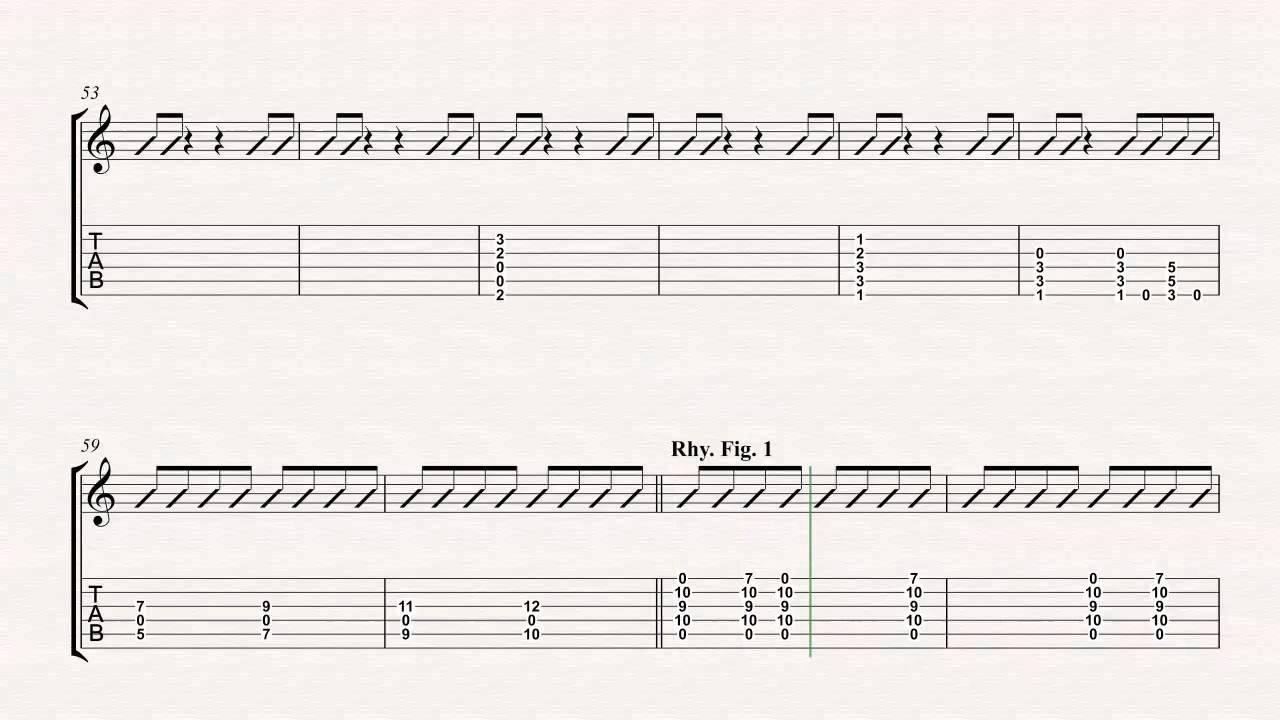Guitar The Pretender Foo Fighters Sheet Music Chords