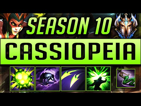 CASSIOPEIA GUIDE SEASON 9 (2019) ULTIMATE GUIDE [BEST RUNES, ITEMS, GAMEPLAY, COMBO'S]   Zoose