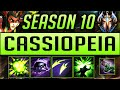 CASSIOPEIA GUIDE SEASON 9 (2019) ULTIMATE GUIDE [BEST RUNES, ITEMS, GAMEPLAY, COMBO'S] | Zoose