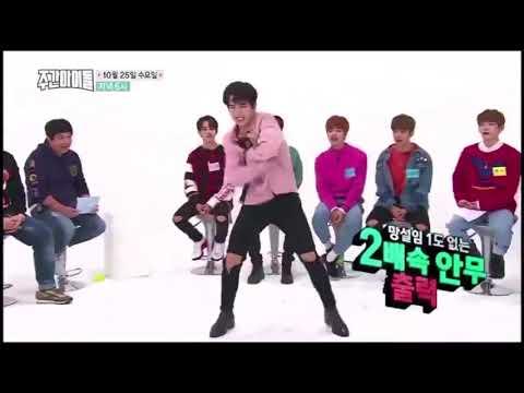 Kim donghan JBJ Dance EXO& BTS 2× speeed  Weekly Idol 326