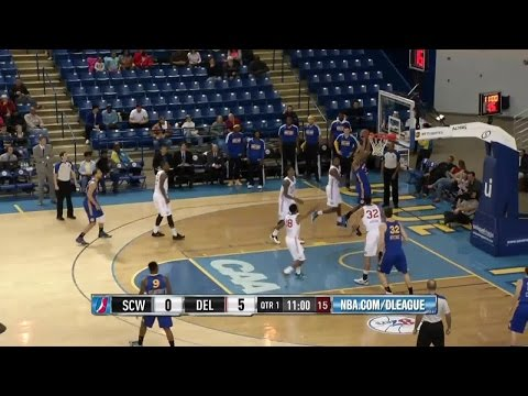 James Michael McAdoo posts 28 points & 18 rebounds vs. the 87ers, 1/13/2015