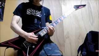【Nick】がAre You Dead Yet?を弾いてみた COB cover Children Of Bodom...
