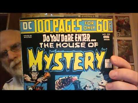 Unboxing House of Mystery Comics from Metropolis Comics