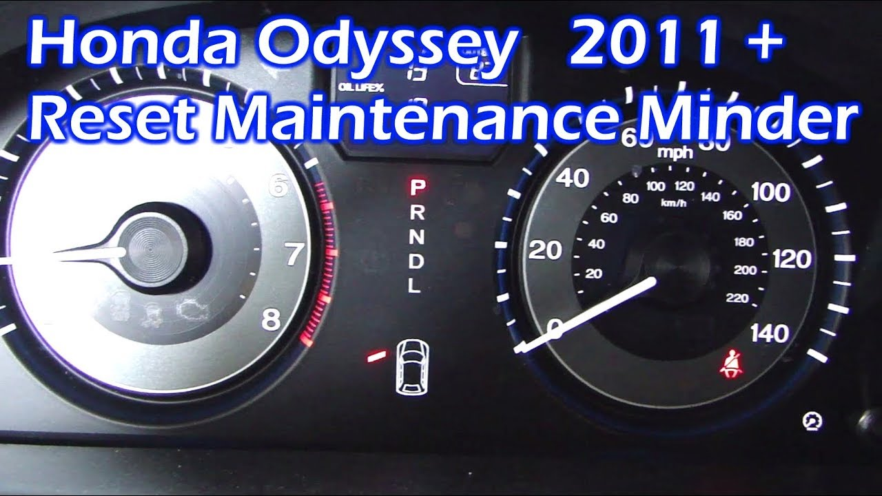 honda odyssey reset maintenance minder 2011 2017 youtube Honda Odyssey Transmission Filter Location honda odyssey reset maintenance minder 2011 2017